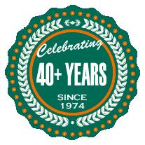 Jack's Lawn Service & Snowplowing - 40+ Years Seal
