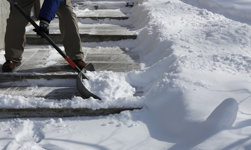 City Walk Snow Removal by Jack's Lawn Service & Snowplowing