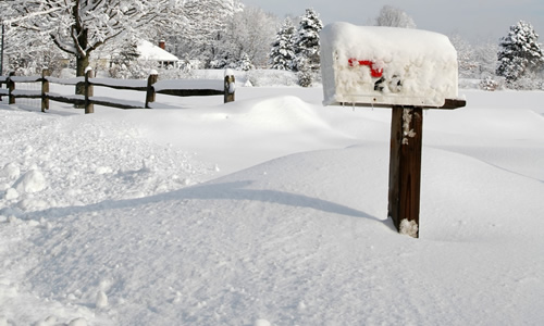 Mailbox Snow Removal by Jack's Lawn Service & Snowplowing