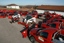 Jack's Lawn Service & Snowplowing Fleet Photo