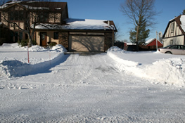 Residential Snow Removal from Jack's Lawn Service & Snowplowing